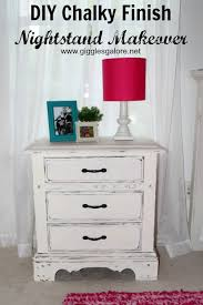 Americana Decor Chalky Finish Paint Colors by Diy Chalky Finish Nightstand Makeover