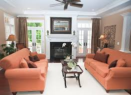 Living Room Layout With Fireplace In Corner by Family Room With Fireplace And Tv Home Decorating Interior