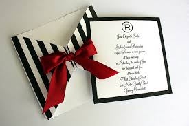 Red Black And White Wedding Invitations For A Lovely Invitation Design With Layout 1