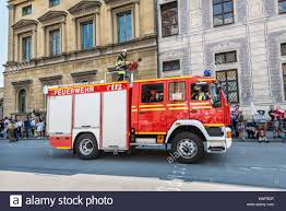 Munich, Germany - May 29, 2016: Munich Saw The Biggest Fire Truck ...