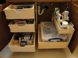 Bathroom Organization Ideas Diy by Bathroom Under Cabinet Storage