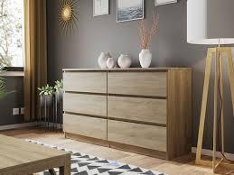 kommode malwa m6 140 sideboard schrank highboard schlafzimmer modern design weiß m24