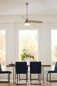 Ceiling Fan In Dining Room