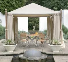 Romantic Backyard Creations Gazebo Decor — The Wooden Houses Outdoor Affordable Way To Upgrade Your Gazebo With Fantastic 9x9 Pergola Sears Gazebos Gorgeous For Shadetastic Living By Garden Arc Lighting Fixtures Bistrodre Porch And Glamorous For Backyard Design Ideas Pergola 11 Wonderful Deck Designs The Home Japanese Style Pretty Canopies Image Of At Concept Gallery Woven Wicker Chronicles Of Patio Landscaping Nice Best 25 Plans Ideas On Pinterest Diy Gazebo Vinyl Wood Billys