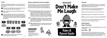 Instructions For Zobmondo Games