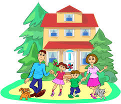 Clip Arts Related To Family House Clipart