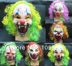 Halloween Scare Pranks 2013 by 2013 New Horror Clown Mask Halloween Mask Scary Mask Funny Latex