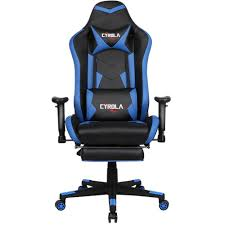 CYROLA Gaming Chair With Footrest Big Size High Back 90°-180° Armrest  Adjustable Blue/Black T/A03 Mini Gaming Mouse Pad Gamer Mousepad Wrist Rest Support Comfort Mice Mat Nintendo Switch Vs Playstation 4 Xbox One Top Game Amazoncom Semtomn Rubber 95 X 79 Omnideskxsecretlab Review Xmini Liberty Xoundpods Tech Jio The Best Chairs For And Playstation 2019 Ign Liangjun Table Chair Sets For Kids Childrens True Wireless Cooler Master Caliber R1 Ergonomic Black Red Handson Review Xrocker In 20 Ergonomics Durability
