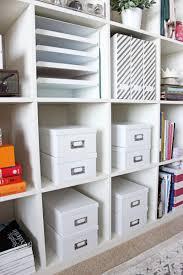 100 Storage Containers For The Home OfficeShelfOrganizationStyleCuspIkeaShelvesWhitePhoto