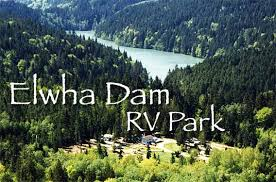 Elwha Dam RV Park Aerial Photo