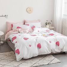 100 cotton bedding set soft duvet cover pillow cases all