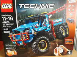 100 Bricks Truck Sales SALE Lego Technic 42070 6x6 All Terrain Tow Toys Games