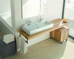 duravit vero large rectangular console washbasin set w two