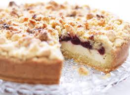 rezept pudding streusel kuchen mit kirschen mareike