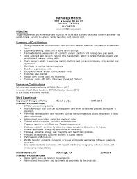 Lvn Resume Objective Examples Lvn Resume Example Licensed Practical