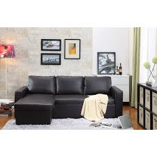 Buchannan Faux Leather Corner Sectional Sofa Chestnut by Miller 2 Piece Ivory Modern Bonded Leather Sectional Sofa Set