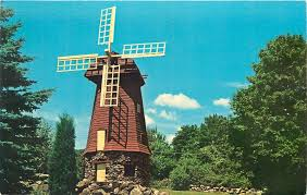 Christmas Tree Shop Danbury Ct Holiday Hours by Lake Candlewood Ct Landmark Windmill At Knollcrest 1960s Postcard