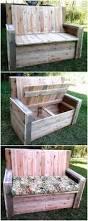 Suncast 50 Gallon Deck Boxstorage Bench by Best 25 Garden Bench With Storage Ideas On Pinterest Garden