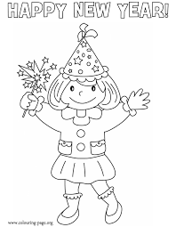 Coloring Pages Of Little Girls