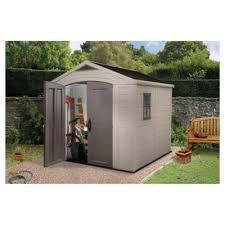 6x3 Shed Bq by Garden Sheds Direct Plastic U0026 Wooden Sheds Tesco