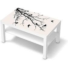 creatisto möbeltattoo passend für ikea lack tisch 90x55 cm i möbeldekoration möbel aufkleber folie i deko diy für schlafzimmer wohnzimmer