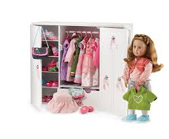 Perfect Decoration Our Generation Doll Wardrobe Wooden Dolls