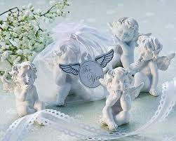 Little Angel Cherub Figurine Favors 6 Sets Of 4