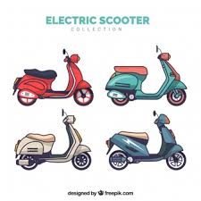 Flat Electric Scooter Collection