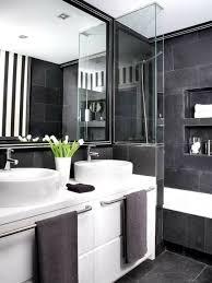 badezimmer schwarz weiß deko 62 171 167 43