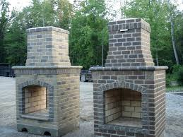 Outdoor Fireplace Designs Ideas Plans With Pizza Oven Top For
