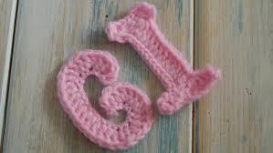 crochet How To Crochet Letters G I Crochet Extras