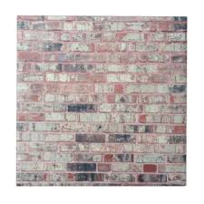 brick wall ceramic tiles zazzle