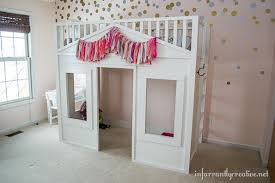 Pottery Barn Cottage Loft Bed Knock f Infarrantly Creative