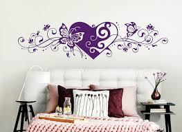 wandtattoo wandsticker wandaufkleber schlafzimmer herz liebe