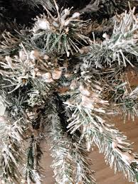 Christmas Tree Flocking Spray by Adventures In Diy Flocking An Artificial Christmas Tree