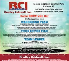100 Truck Driving Jobs In Pa Warehouse Team Team Full Time Team Lead Bradley
