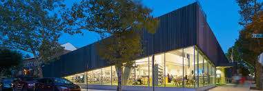 100 Kew Residences Greenroofed Gardens Hill Library Lures Patrons Indoors With A