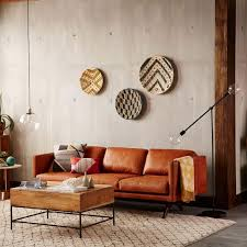 West Elm Paidge Sofa Sleeper by West Elm Brooklyn Leather Sofa Aptdeco