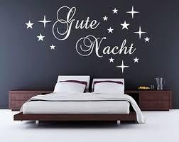 home décor items gute nacht oder sweet dreams wandtattoo