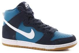 nike sb dunk high pro sb skate shoes obsidian white industrial
