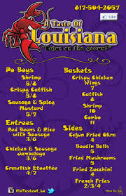 100 Salt Lake Food Trucks A Taste Of Louisiana Mobile Truck Menu UrbanspoonZomato