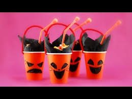Halloween Party Cup DIY Craft For Kids Adult