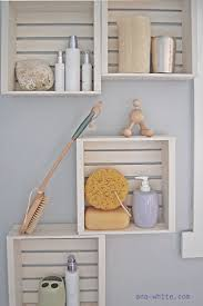 Tutorial Little Crates Bathroom Shelves By Ana White