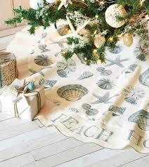 Seashell Christmas Tree Skirt by 171 Best Nautical Christmas Images On Pinterest Decoration