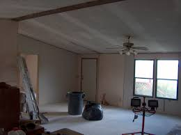 Skip Trowel Plaster Ceiling by Homesteading