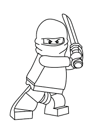 Lego Printable Coloring Pages Free Ninjago For Kids Online