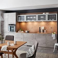 küchenblock nolte hellgrau