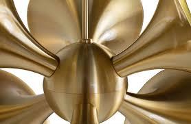 casa padrino luxus hängeleuchte messingfarben 55 x 55 x h 53 cm messing pendelleuchte wohnzimmer le luxus kollektion