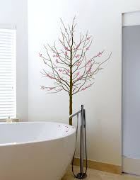 Cherry Blossom Bathroom Decor by Trees Wall Decals Red Cherry Blossom Tree Wall Decal Vinyl Wall