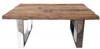 casa padrino designer massivholz couchtisch natur 110 x h 45 cm salon wohnzimmer tisch